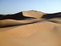 3个沙丘倒空季度 免版税库存照片