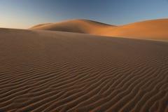 3个沙丘沙子 库存图片