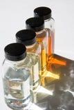 3个油范例 免版税库存图片