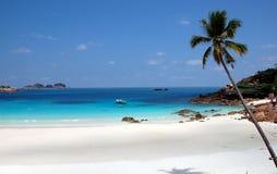 3个海滩pulau redand 免版税库存照片
