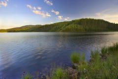 3个湖ribnicko zlatibor 免版税库存图片