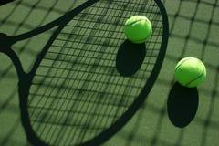 3个球网球 库存照片