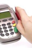 3个看板卡赊帐 免版税库存图片