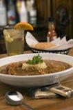 3个碗浓汤 免版税库存图片