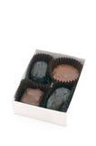 3个糖果巧克力 免版税库存图片