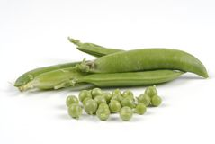 3个绿豆 库存照片