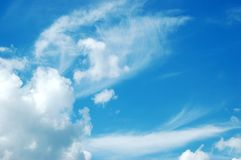 3个背景天空 免版税图库摄影