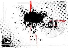 3个背景floorball 皇族释放例证
