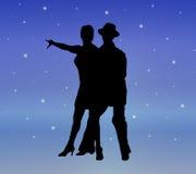 3个舞蹈星光 免版税库存图片