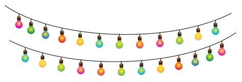 3个色的装饰闪亮指示ramadan街道 免版税图库摄影