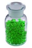 3个药片小瓶 免版税库存照片