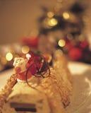 3个蛋糕圣诞节 库存照片