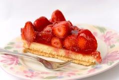 3个蛋糕草莓 库存图片