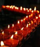 3个蜡烛教会 库存照片