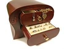 3个配件箱珠宝 免版税库存照片