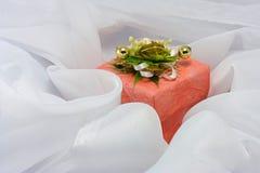 3个配件箱粉红色 免版税库存照片