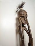 3个非洲人雕塑思想家 免版税库存照片