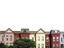 3个dc屋顶 免版税库存照片