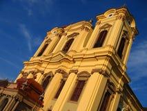 3位天主教徒圆顶罗马尼亚timisoara 库存照片