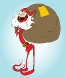 3克劳斯・圣诞老人 免版税库存照片