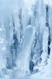 3冻结瀑布 库存照片