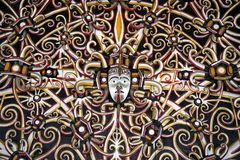 3印度尼西亚人墙壁 库存图片