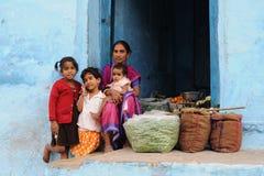 3印度streetscene 免版税图库摄影