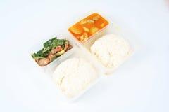 3去中国食物作为 免版税图库摄影