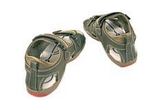 3双儿童鞋子 免版税库存照片