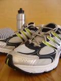 3双鞋子体育运动 免版税库存图片