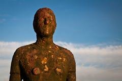 3另一个铁安排雕塑 免版税库存图片