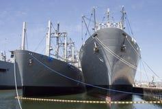3只货船 库存照片