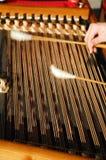 3台仪器音乐会 库存照片