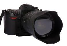 3台照相机数字式dslr 免版税库存图片