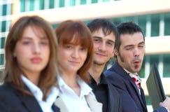 3名企业co工作者 免版税库存图片