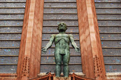 3名国教徒大教堂利物浦 免版税库存图片