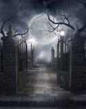 3哥特式坟园 免版税图库摄影