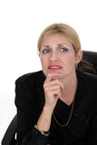 3商业主管计划妇女 免版税库存图片