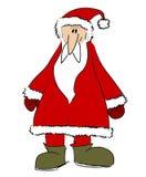 3圣诞老人 库存例证