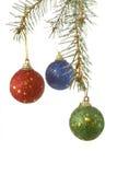 3圣诞节新的结构树 库存图片