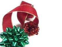 3圣诞节特写镜头 免版税库存图片