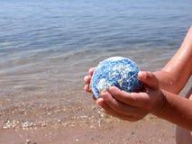 3地球保存 免版税库存照片