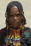 3埃赛俄比亚的女孩 免版税库存照片