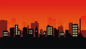 3城市 免版税库存图片