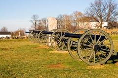 3大炮gettysburg 免版税库存图片