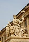 3大理石宫殿雕塑凡尔赛 库存照片
