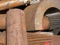 3大量金属废料 库存图片