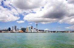 3奥克兰城市日新西兰 图库摄影