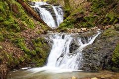 3峡谷uvas瀑布 库存照片