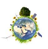 3干净的概念环境 库存图片